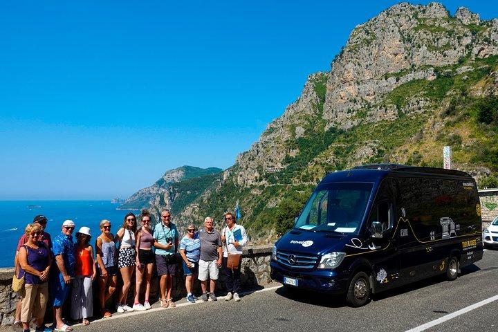 Tour to the Amalfi Coast Positano, Amalfi & Ravello from Naples
