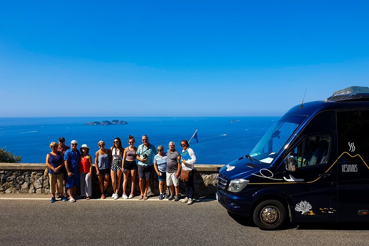 Tour to the Amalfi Coast Positano, Amalfi & Ravello from Sorrento