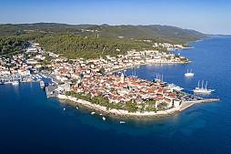 Korcula from Dubrovnik